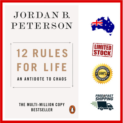 AU17.49 • Buy 12 Rules For Life: An Antidote To Chaos Paperback By Jordan Peterson Free Post