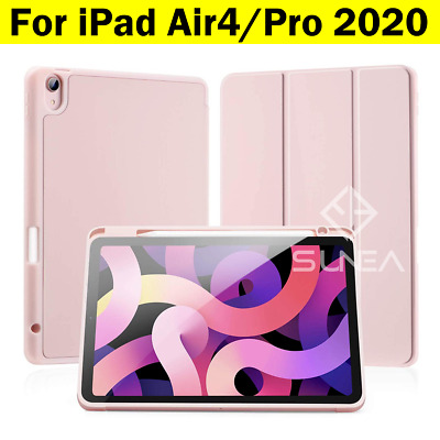 AU30.95 • Buy For IPad Pro 11/12.9 Case Air 4 2020 Shockproof Silicon Smart Cover Pen Holder