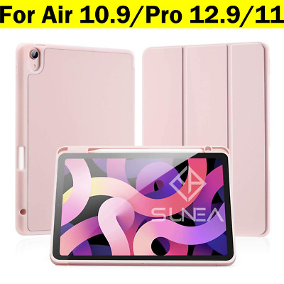 AU32.95 • Buy IPad Pro 11/12.9  Case 2020/2018 Shockproof Silicon Smart Cover With Pen Holder