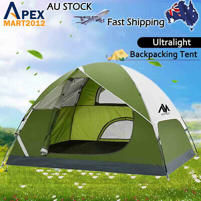 AU109.99 • Buy 2-3 Person Ultralight Portable Camping Backpacking Tent Waterproof Double Layer