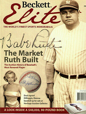$9.99 • Buy 2006 Beckett Elite  PREMIER ISSUE Babe Ruth New York Yankees