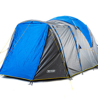 AU299 • Buy Adventure Kings Camping Hiking 6Person Geo Dome Tent Two Room 4WD Outdoor Picnic