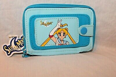 $4.25 • Buy New With Tags 1999 Sailor Moon Blue Coin  Wallet