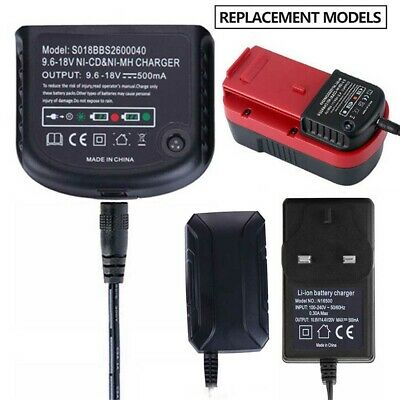 Charger For Black Decker 1.2V-18V A1712 A1718 A12 A18 Ni-MH Ni-CD Battery M7N8 • 14.07£