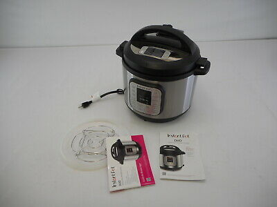 $19.01 • Buy Instant Pot Duo 80 7-in-1 Electric Pressure Cooker, Slow Cooker, Rice Cooker