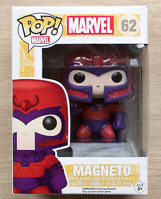 Funko Pop Marvel X-Men Magneto + Free Protector • 21.99£