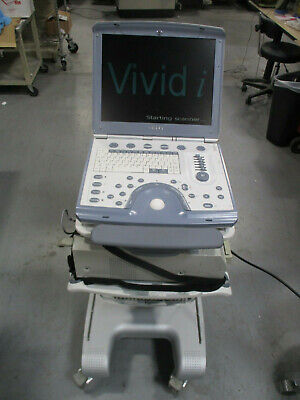 $8999 • Buy GE Vivid I Portable Ultrasound System, Cart, Printer