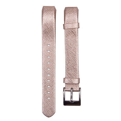 AU13.81 • Buy Gold Replacement Leather Wrist Band Strap For Fitbit Alta / Fitbit Alta HR