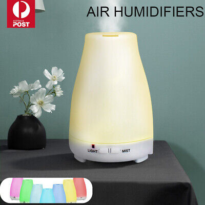 AU13.49 • Buy LED Diffuser Essential Oil Humidifier Ultrasonic Aroma Aromatherapy Air Purifier