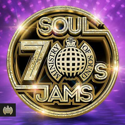 Ministry Of Sound 70s Soul Jams 3 CD Chic, Kool & The Gang, Trammps, The O'Jays • 4.99£