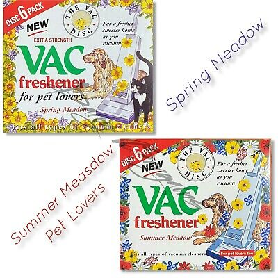 Vac Freshener Hoover Vacuum Cleaners DOG  Disc For Pet Lovers Home Office • 3.89£