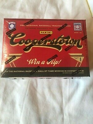 $17.99 • Buy 2012 Panini Cooperstown Factory Sealed Blaster Box - Possible Inserts