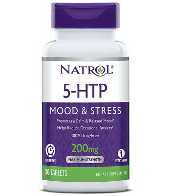 $ CDN32.78 • Buy NATROL - 5-HTP Time Release 200 Mg  - 30 Tablets