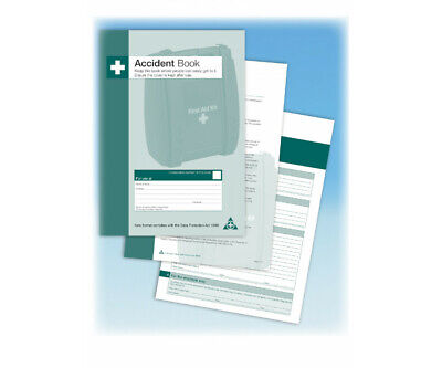£4.95 • Buy First Aid Accident Book Workplace School Accident Injury Report Compliant A4