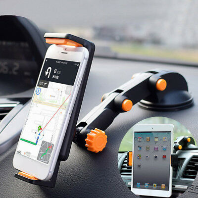 360°Car Windshield Mounts Holder For 7-11  IPad Mini/2/3/4/Air IPhone Tablet  RC • 10.79£