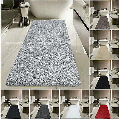 Extra Long Bath Mat Water Absorbent Thick Bathroom Rugs Washable Pedestal Mats  • 10.99£