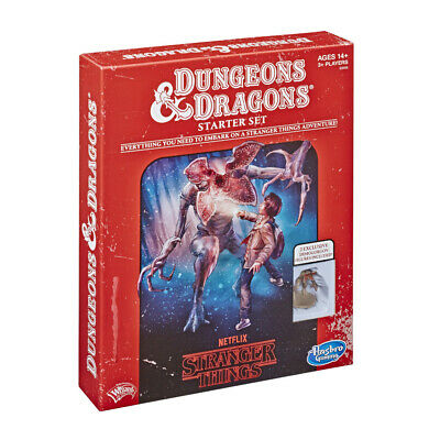 AU35 • Buy Stranger Things - Dungeons And Dragons Starter Set | Hasbro