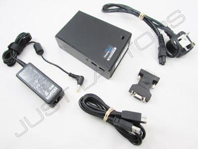 USB DUAL DVI DISPLAY Docking Station Port Replicator For Dell LG ASUS Laptop • 57.95£
