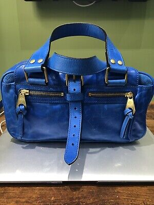 Genuine MULBERRY Mabel Small In Ocean Blue • 195£