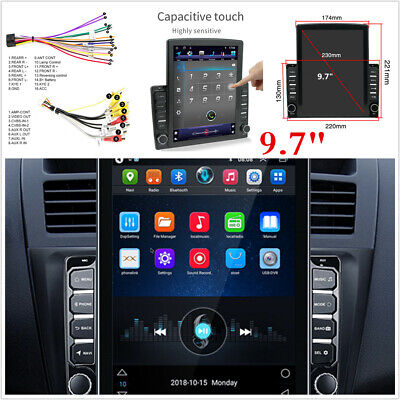 $ CDN247.50 • Buy 9.7 Inch Android 9.1 Car Stereo Radio GPS Navigation Wifi 1080P Touch Screen