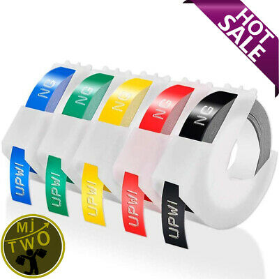 Label Maker Embossing 3D Label Tape 9 Mm X 3 M Compatible Dymo Omega Home S071 • 10.79£