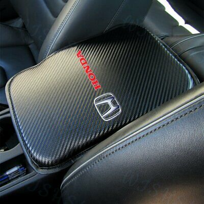 $19.99 • Buy For New HONDA Racing Car Center Console Armrest Cushion Mat Pad Cover +FREE GIFT