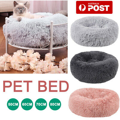 AU36.59 • Buy Pet/Cat/Dog/Puppy Bed Warm Soft Plush Round Nest Comfy Sleeping Kennel Cave