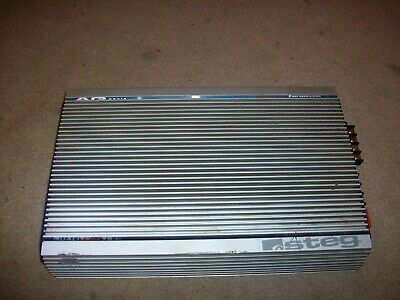 $ CDN180.53 • Buy AQ Series HD Mosfet Stabilized 2 CHANNEL POWER AMPLIFIER Amp 75.4x 11+14.4 Italy