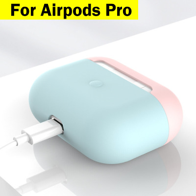 AU7.95 • Buy Airpods Pro Case Earphones Silicone Cover Ultra Slim Matt Finish For Apple