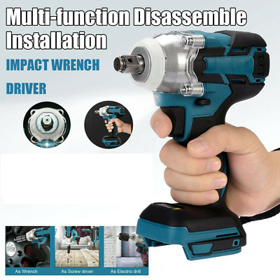 Cordless Impact Wrench For Makita DTW285Z Brushless 1/2  18V Li-ion Body Only MS • 37.99£