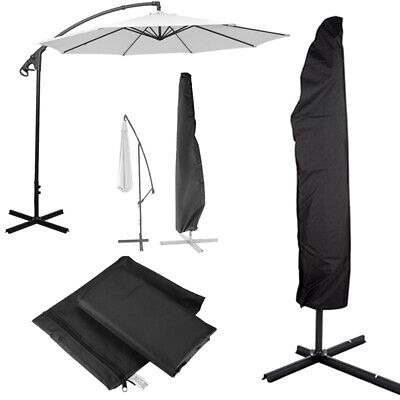 AU21.80 • Buy Outdoor Banana Umbrella Cover Garden Patio Cantilever Parasol Protective Deluxe