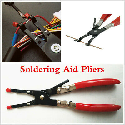 $ CDN25.14 • Buy Universal Soldering Aid Pliers Tool Hold 2 Wires Whilst Soldering Hand Weld Tool