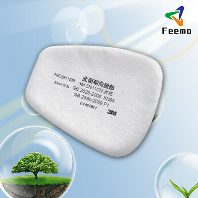 $ CDN13.15 • Buy 20Pcs 5N11 Cotton Filter Replacement Filters For 6200 6800 7502 Respirator New