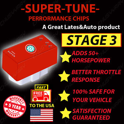 $31.99 • Buy Fits -Ford Mustang GT 4.6L 5.0L - Super Performance Chip Power Tuner Programmer