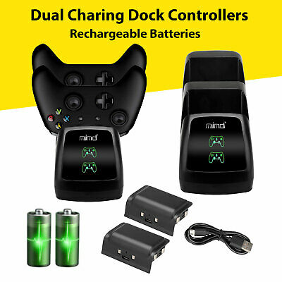 $22.97 • Buy LED Dual Fast Charging Dock Station Charger For Xbox One/One S/One X Controller