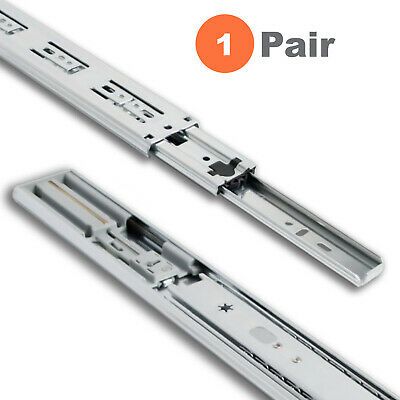 $19.99 • Buy Soft Close Side Mount Ball Bearing Drawer Slides 12  To 24  High-Quality