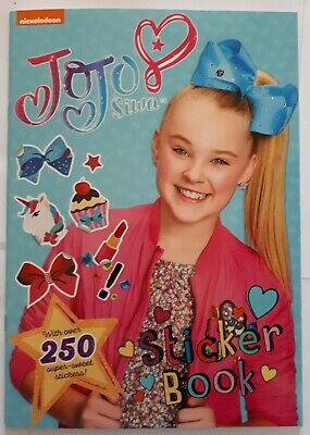 AU7 • Buy NICKELODEON JoJo Siwa Sticker Book