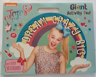 AU9 • Buy NICKELODEON JoJo Siwa Dream Crazy Big Giant Activity Pad