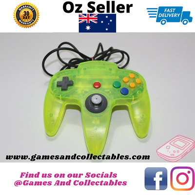 AU209.99 • Buy Extreme Lime Green Controller 🎮 N64 🎮