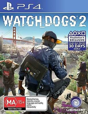 AU38.50 • Buy Watch Dogs 2 PS4 New Sealed