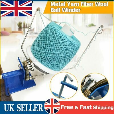 10oz Heavy Duty Needlecraft Large Metal Yarn/Fiber/Wool Ball Winder Knitting @UK • 24.56£