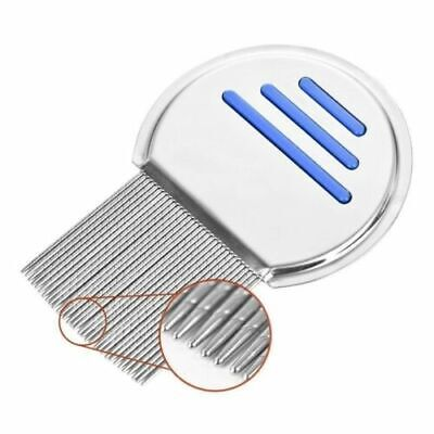 Lice Nit Comb Get Down To Nitty Gritty Stainless Steel Metal Head And Teeth New • 1.99£