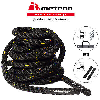 AU24 • Buy Meteor Battling Ropes Battle Ropes 9m,12m,15m Strength Training Exercise Workout