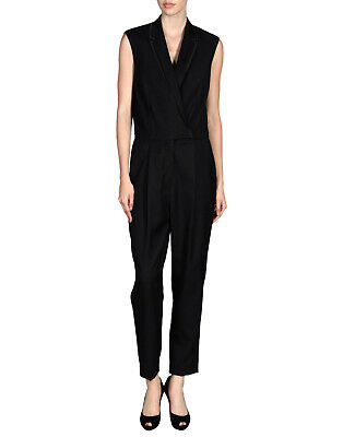 $272.50 • Buy STELLA McCARTNEY $2600 Black One Piece Tuxedo Suit Le Smoking Jumpsuit 44 NEW