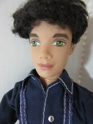 $16.20 • Buy MY SCENE BOY MALE DOLL ELLIS ROOTED HAIR GREEN EYES With Clothes  - MX