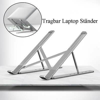 AU23.99 • Buy Foldable Laptop Stand Adjustable Notebook Table Portable Tray Lazy Computer Desk