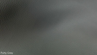 Heavy Duty Grey Faux Leather Leatherette Vinyl Pvc Upholstery Material Fabric • 1.80£