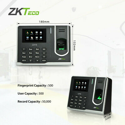 AU88 • Buy Fingerprint Attendance Machine Biometric Time Clock Employee Check-in Recorder