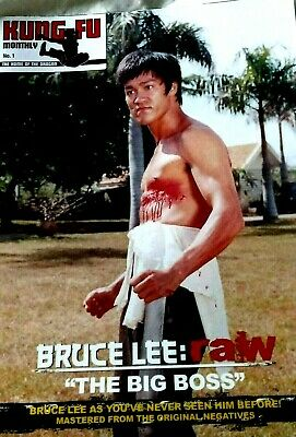 £7.99 • Buy Bruce Kung Fu Monthly 2016 Editions The Big Boss Poster Magazine No1