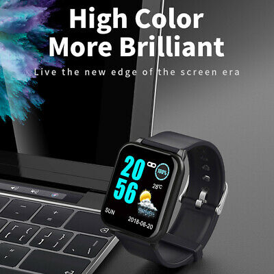 AU37.89 • Buy Waterproof Bluetooth Smart Watch Heart Rate Monitor Wristband For IOS Android🔥